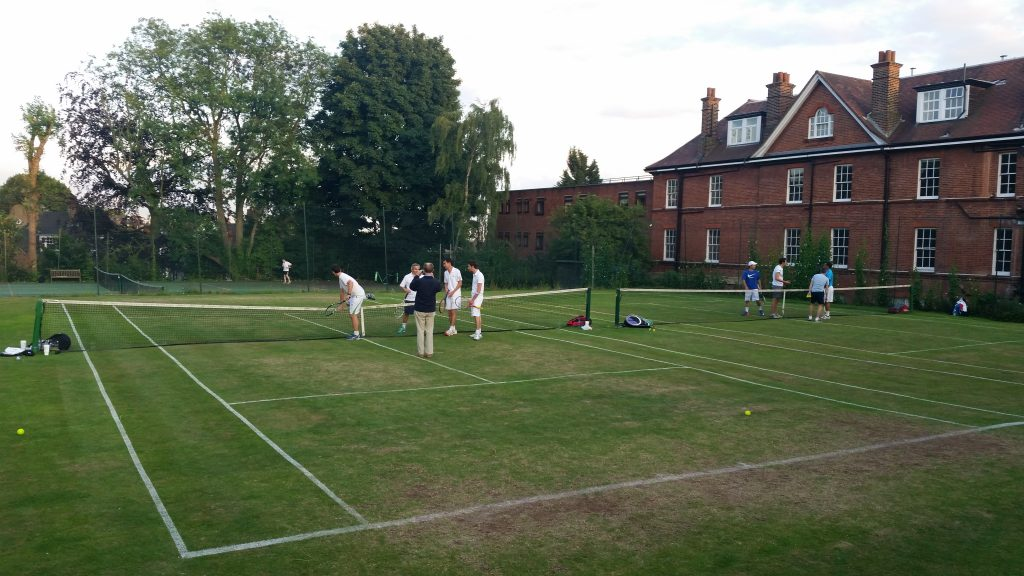 West Heath Men's Doubles Semi Finals 2015
