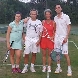 Mixed Doubles Final - Carine, C